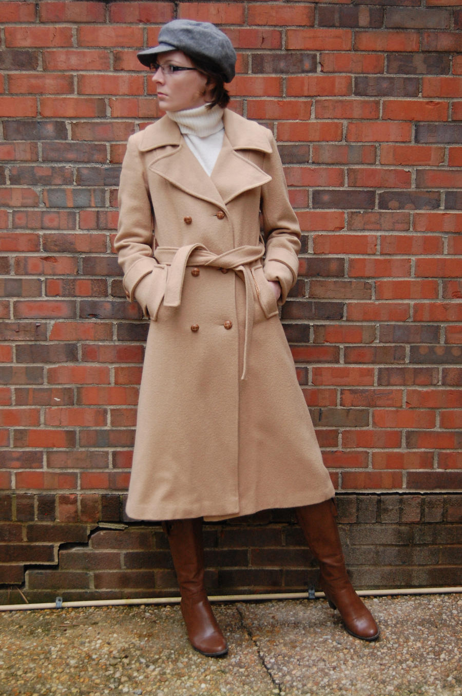 Coat IV - Look by BlooDoveStock