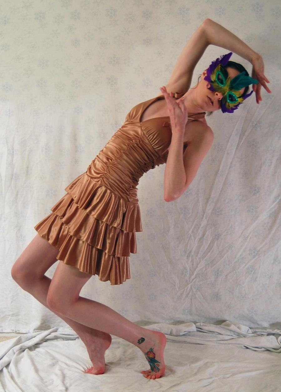 Masquerade XX - Backward by BlooDoveStock