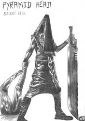 Pyramid Head - silent hill by susakuseryu