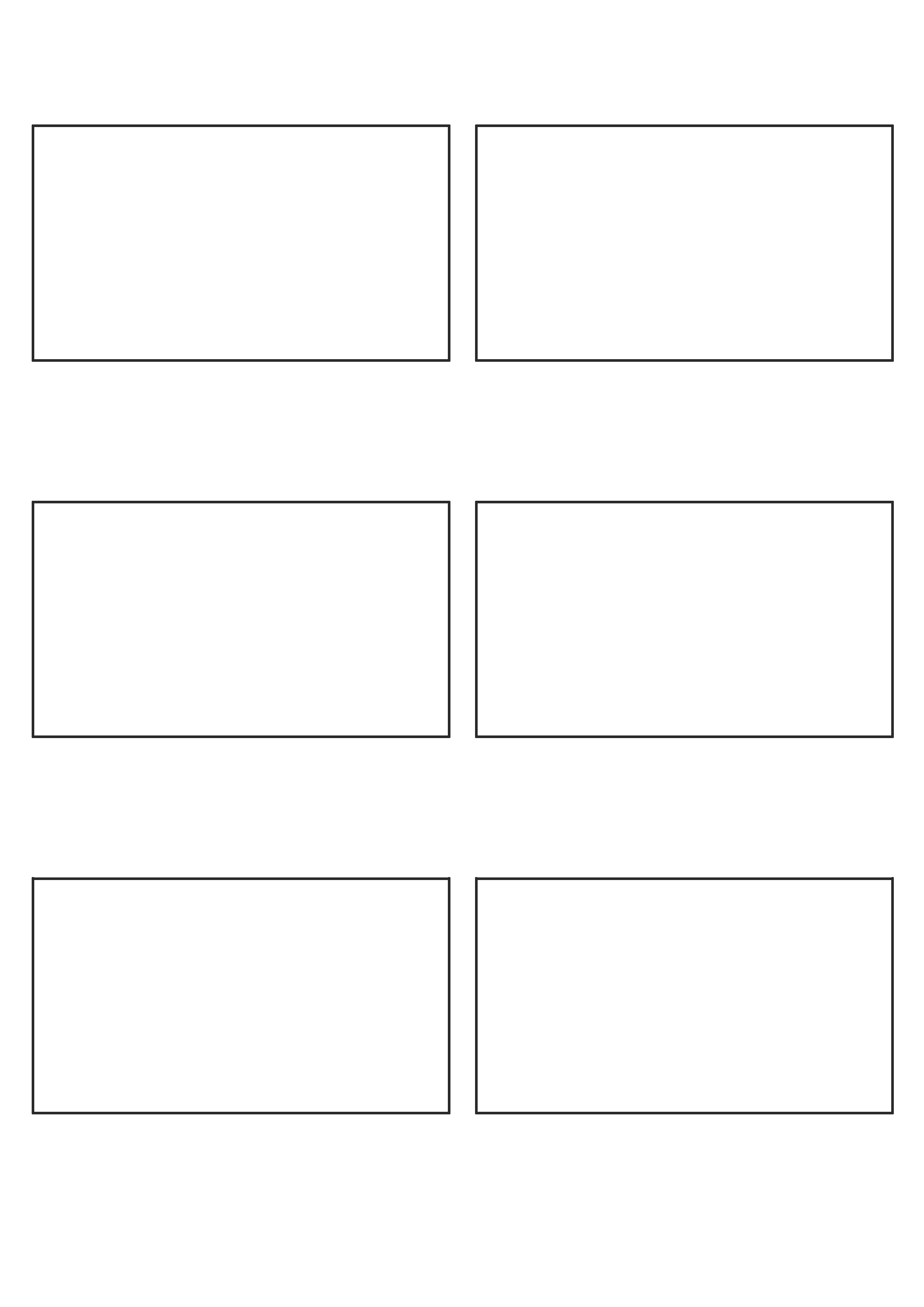 Storyboard Template 16 9 Print By Gabrielbishop On