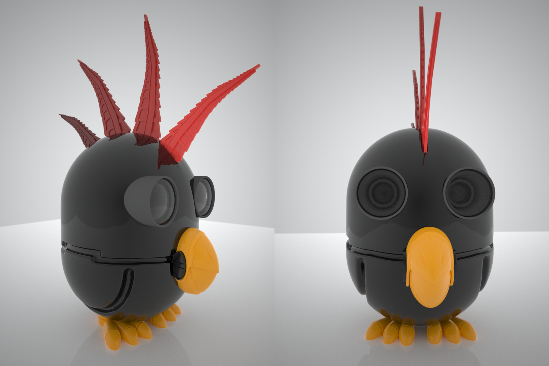 Black Bird by pyrohmstr