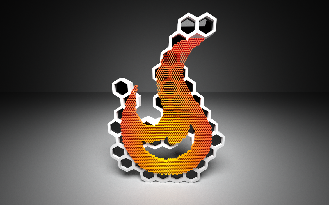Flame Desktop by pyrohmstr