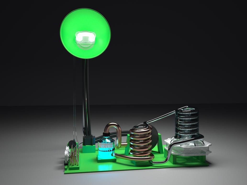 Lamp by pyrohmstr
