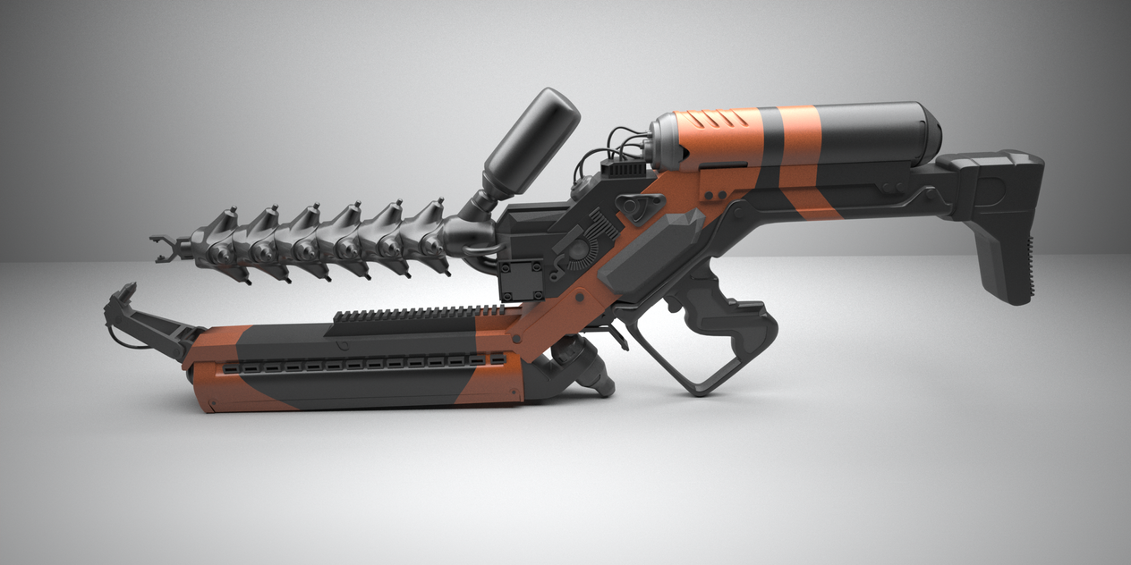 Arc Gun WIP2 by pyrohmstr