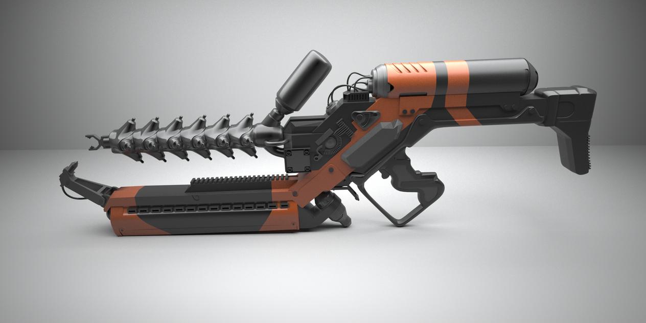 Arc Gun WIP2 by pyrohmstr
