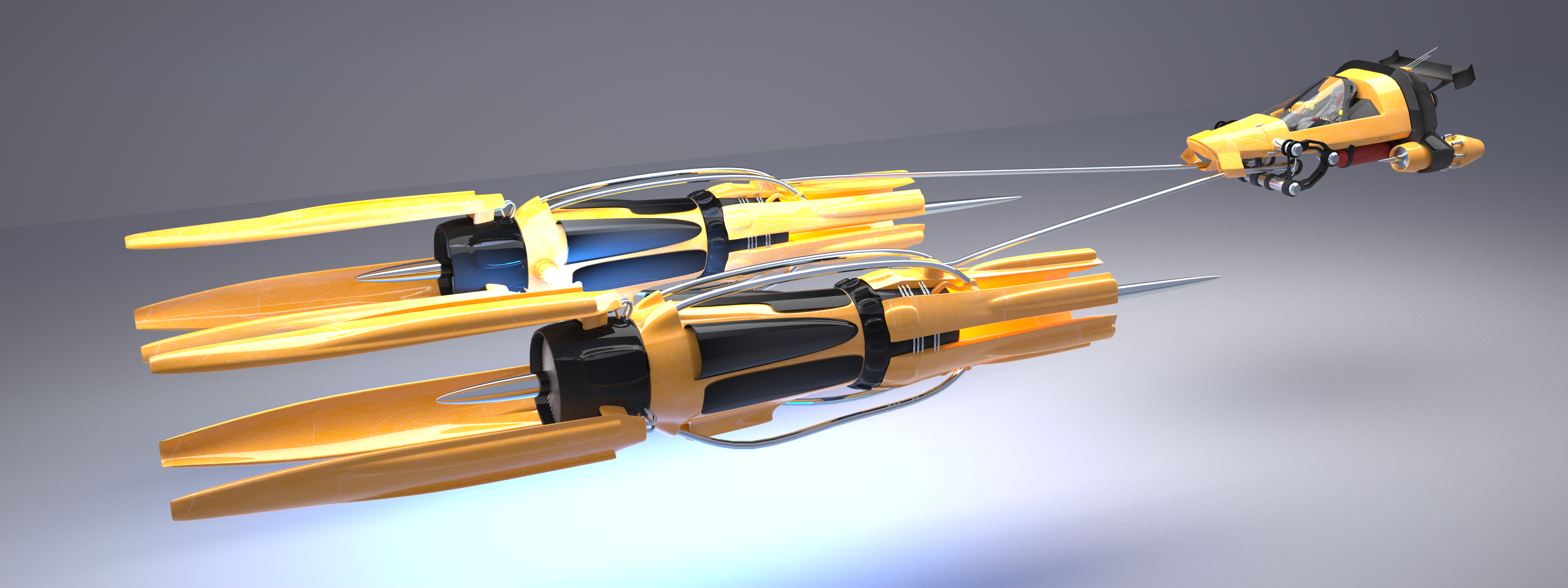 Pod Racer by pyrohmstr