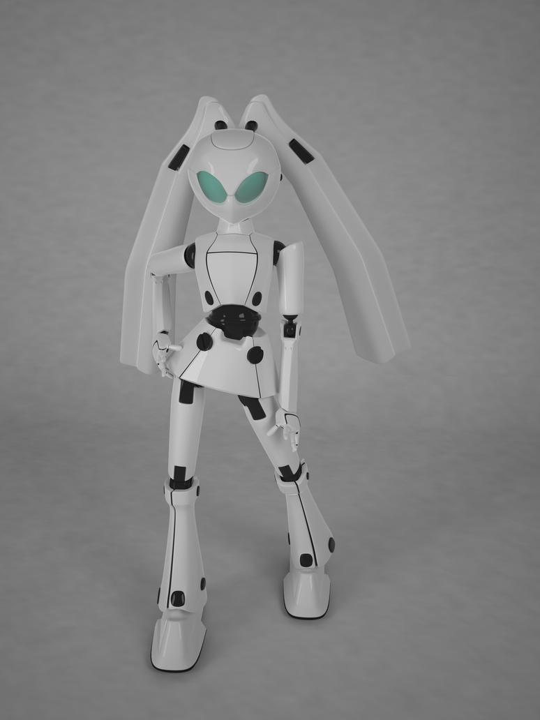 Robot by pyrohmstr