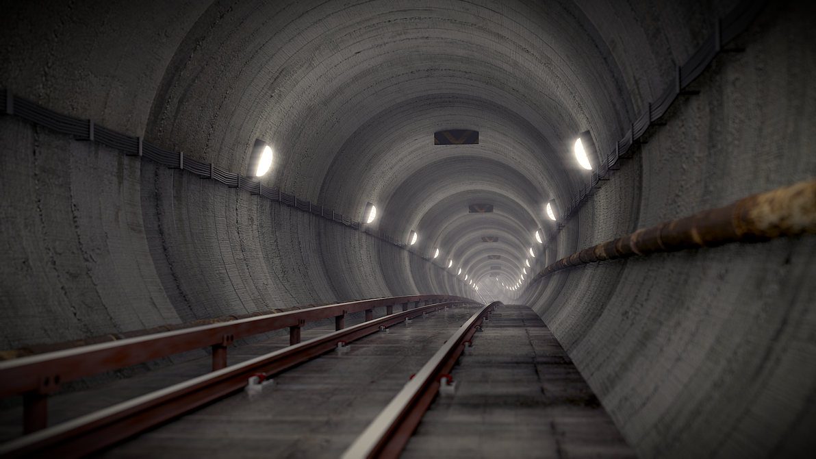 Tunnel by pyrohmstr