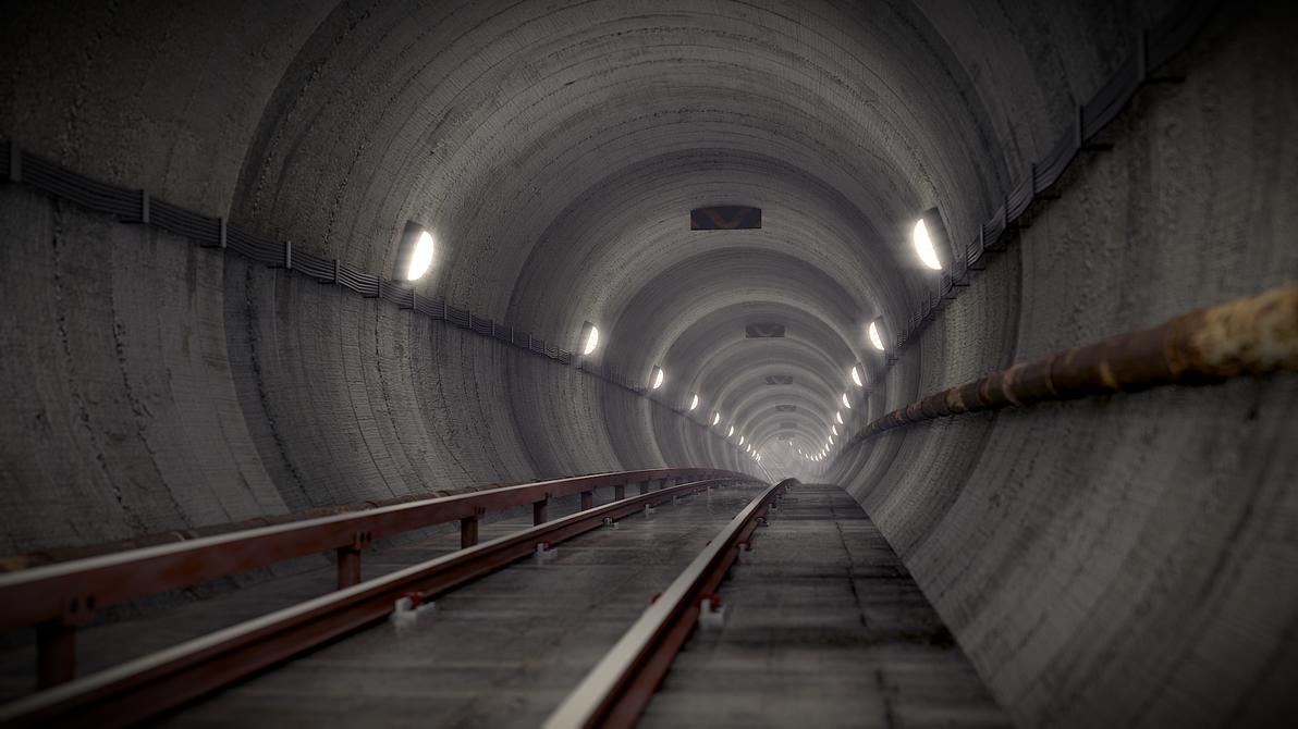 Tunnel by pyrohmstr