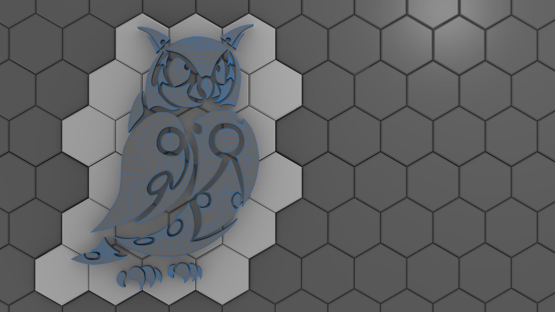 Owl Desktop by pyrohmstr