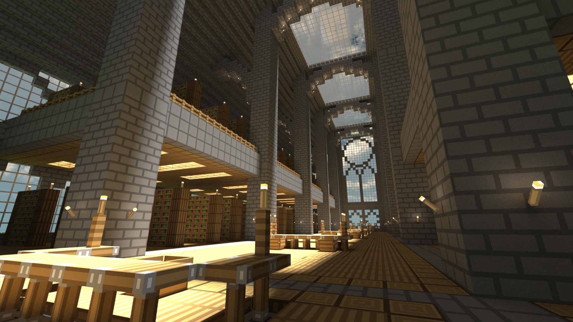 Minecraft Library by pyrohmstr