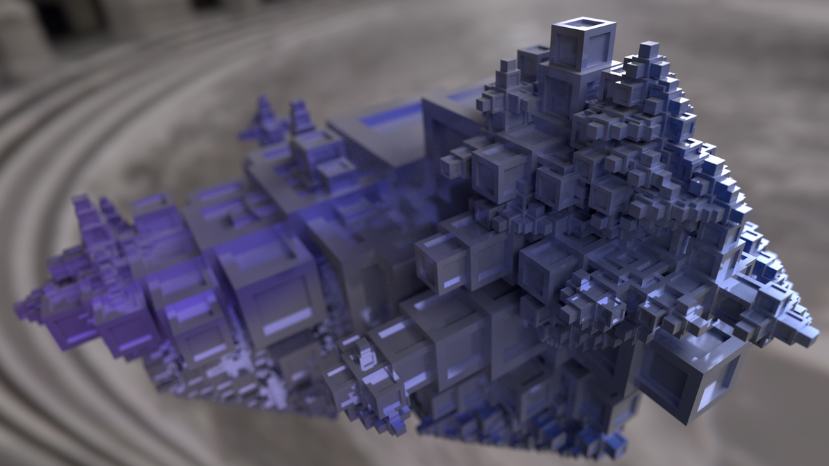 Structure Synth Crystal by pyrohmstr