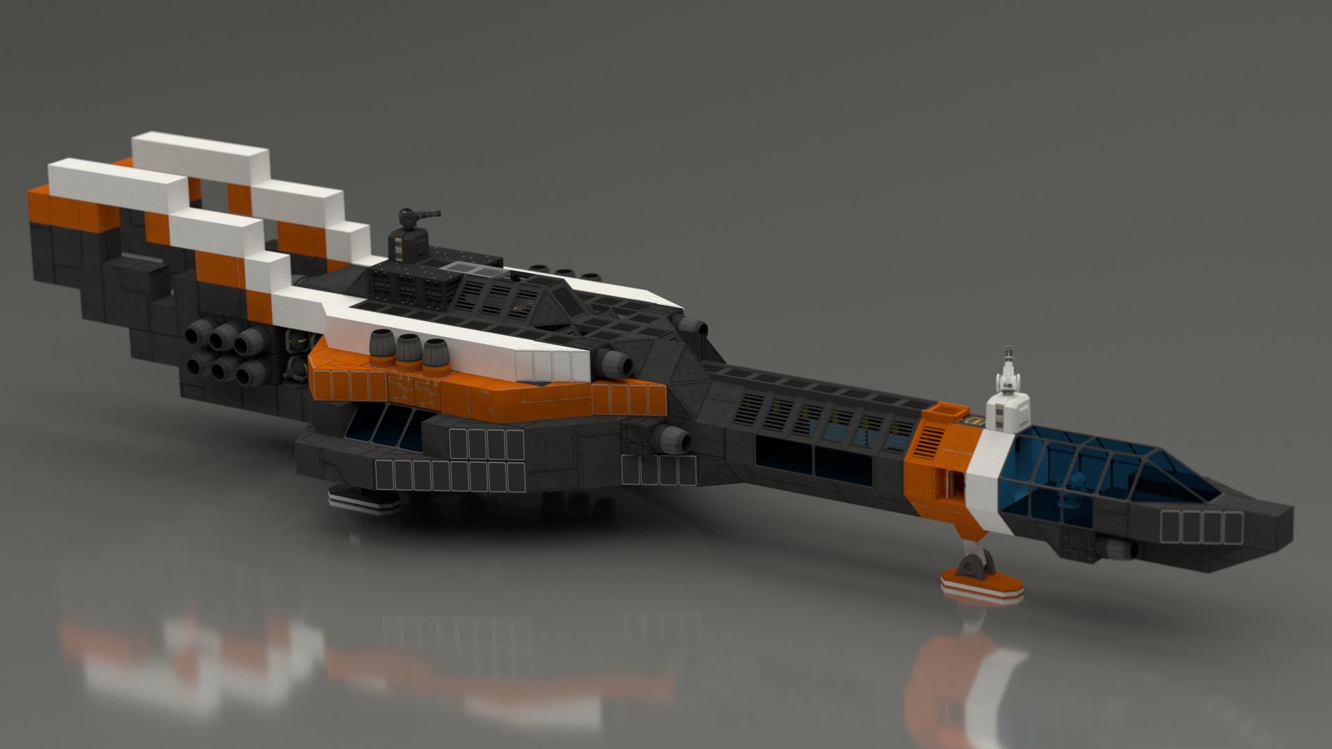 Как сделать корабль корабли в space engineers 163