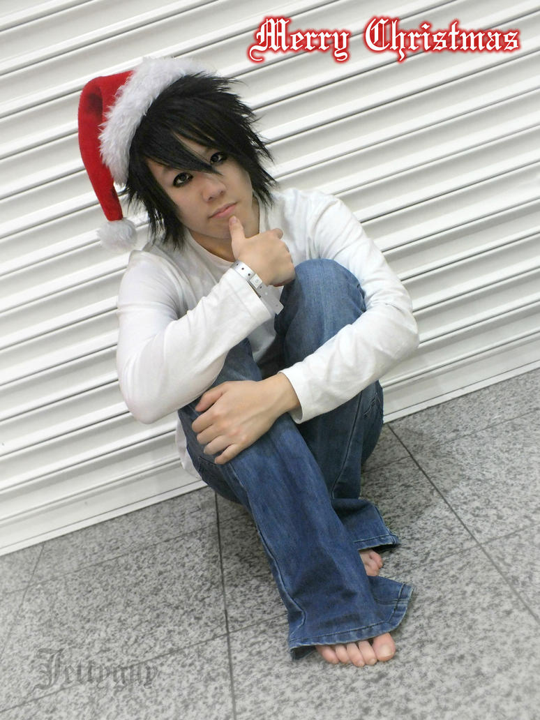 Death Note: Merry Christmas - L by jettyguy