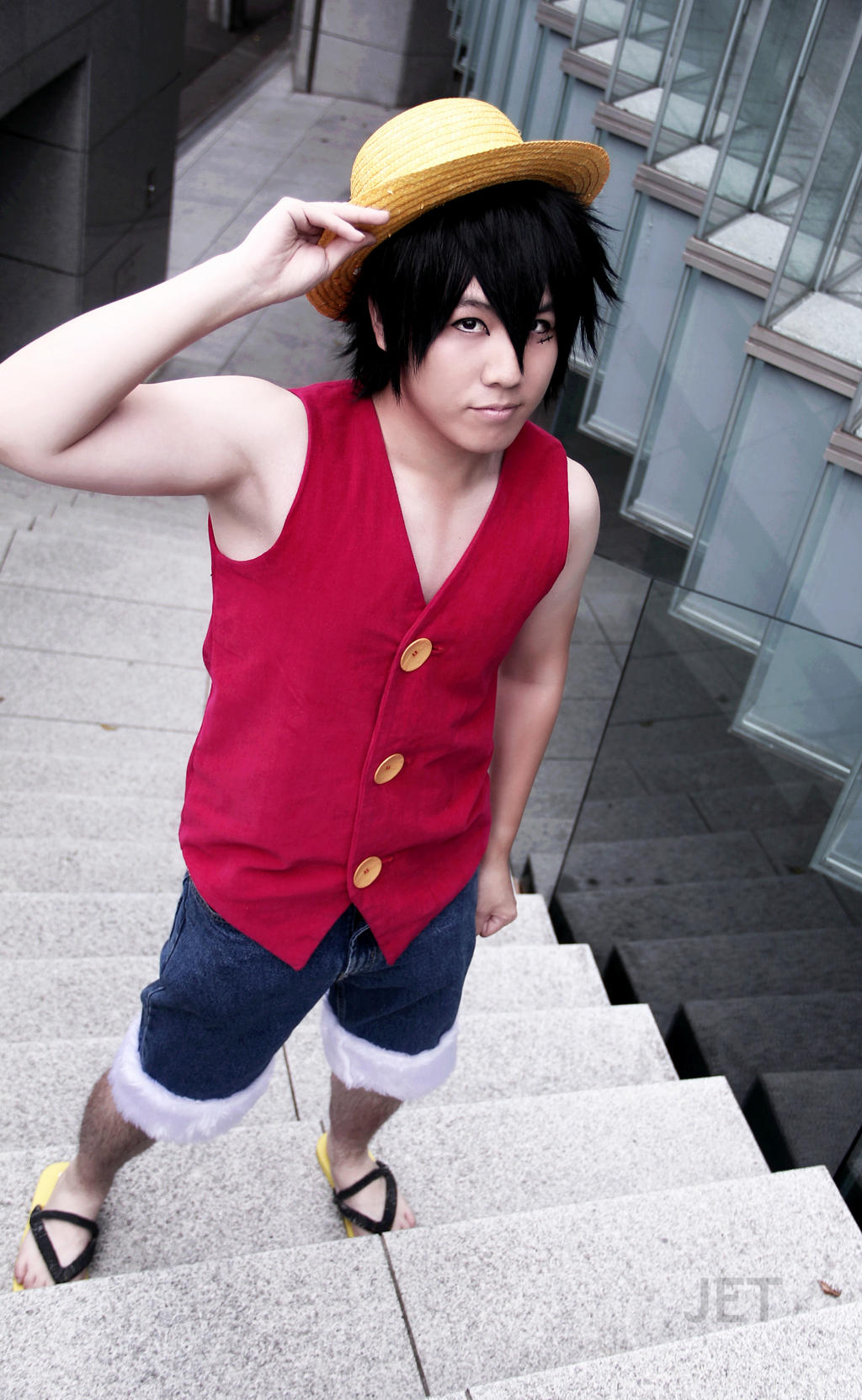 Anime Characters Easy To Cosplay : Luffy one piece by jettyguy on deviantart