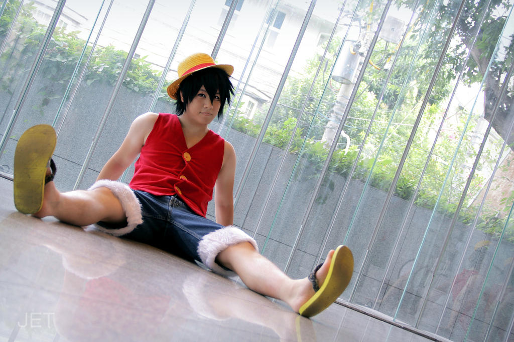 Luffy Cosplay by jettyguy