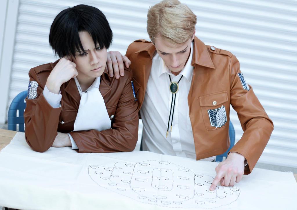 The Plan - Levi + Erwin by jettyguy