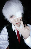 Kaneki Ken - Tokyo Ghoul by jettyguy