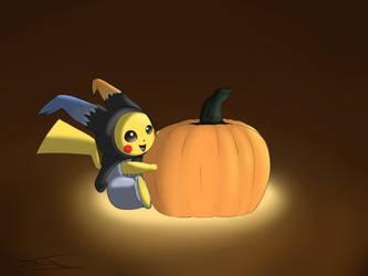 Happy halloween! by AsteraArt