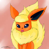 Flareon by AsteraArt