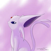 Espeon by AsteraArt