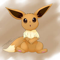 Eevee by AsteraArt