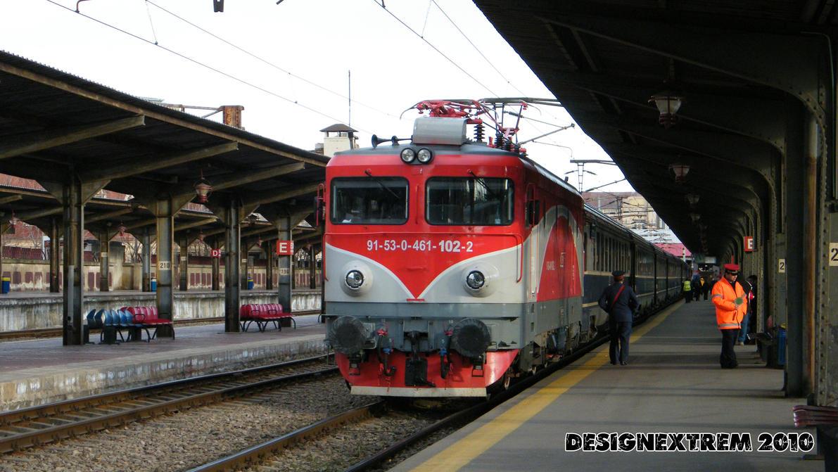 Locomotiva 91-53-0-461-102-2 by Cipgallery
