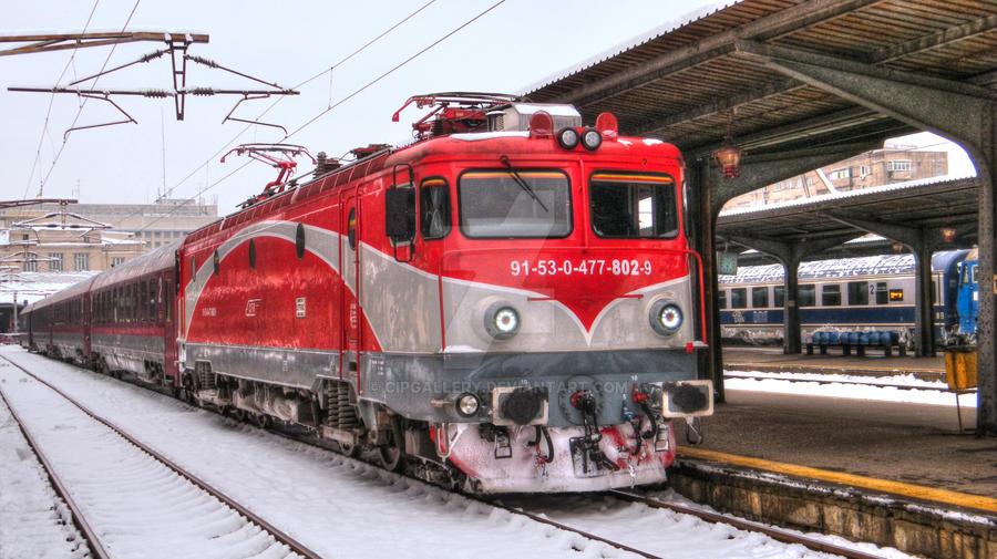 Locomotiva 91-53-0-477-802-9 by Cipgallery