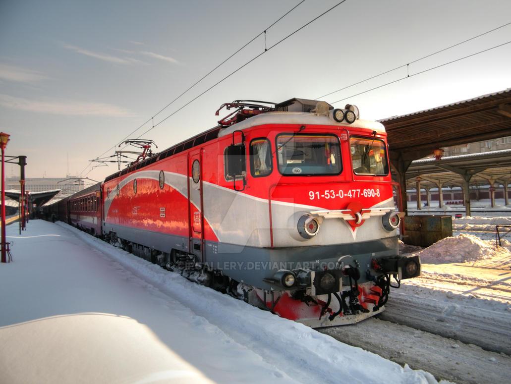 Locomotiva 91-53-0-477-690-8 by Cipgallery