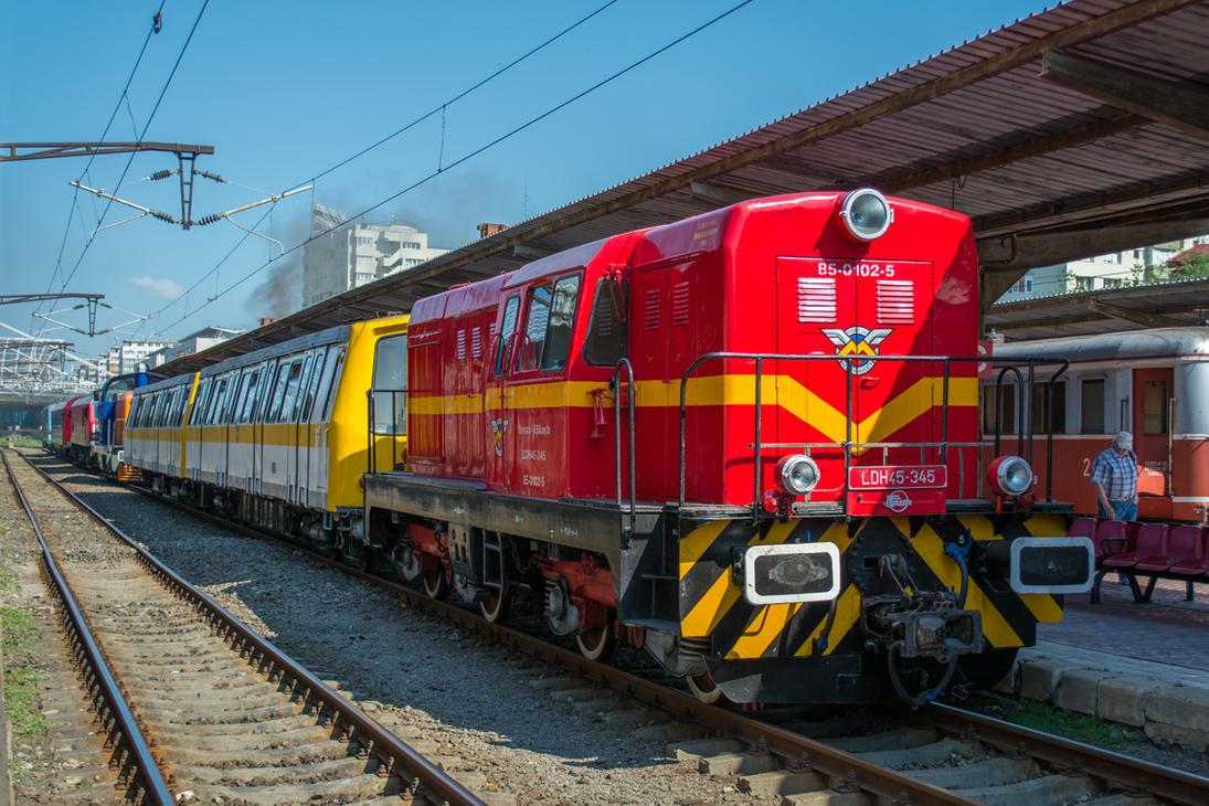 Locomotiva LDH 45-345 by Cipgallery