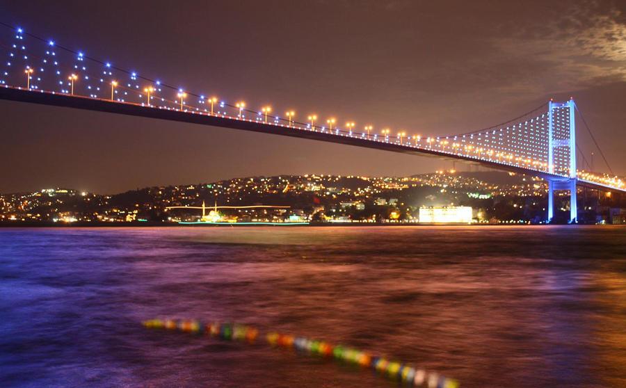 Istanbul Bosphorus by brokodil on DeviantArt