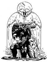 predator vs. maskot by jim f. by mac0y