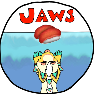 - Gummi the Shark Jaws Badge - by XioletWoolfyDraws