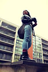 Jessica Jones Cosplay 4 by MeMyselfAndTARDIS