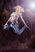 joyful leap by C-h-r-i-s-P