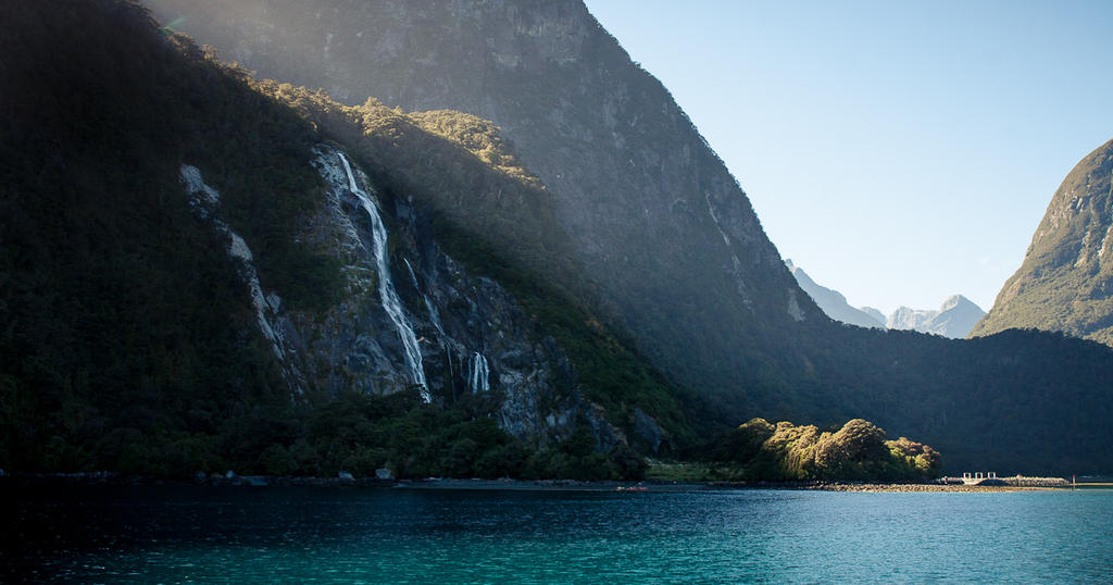 Milford Sound Morning by C-h-r-i-s-P