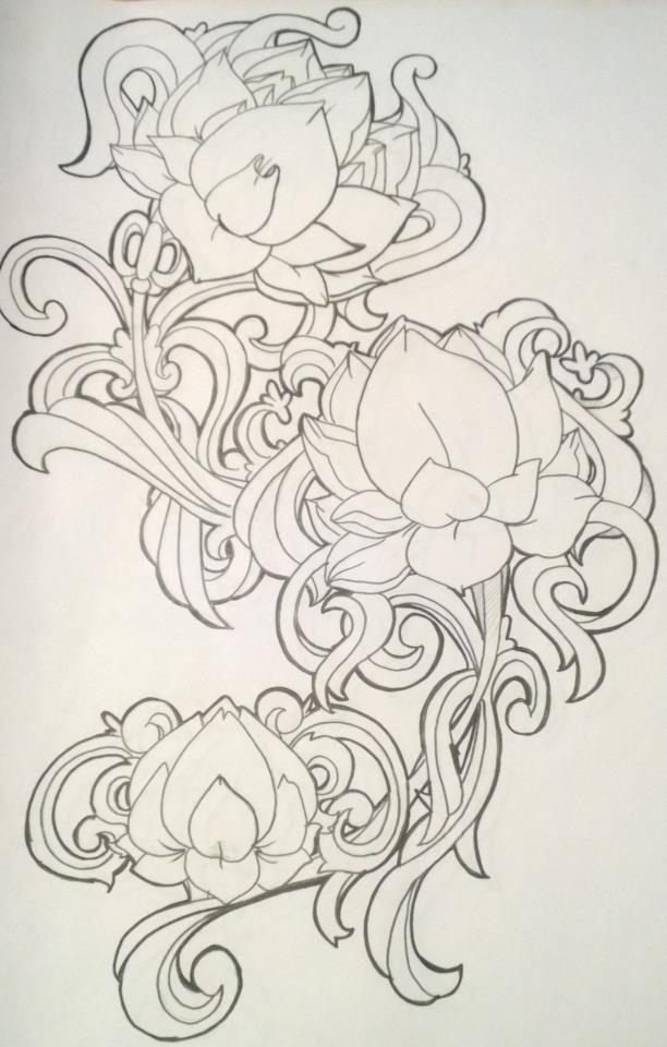 Lotus Filigree by LolaLotus