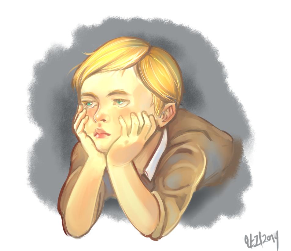 Bored Child Erwin Smith by TaeShin