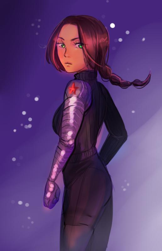 Bucky Genderbend by TaeShin
