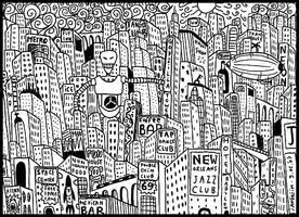 New Yorkk by laresistance