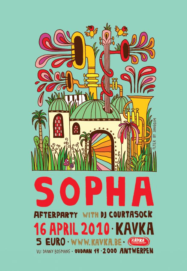 SOPHA Poster by laresistance