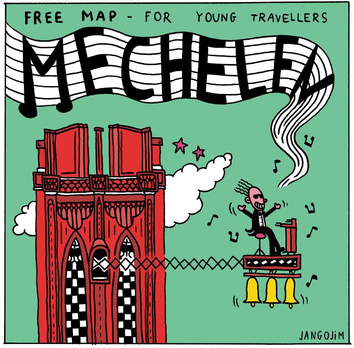 MAP OF MECHELEN by laresistance