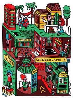 WONDERLAND LIBRARY