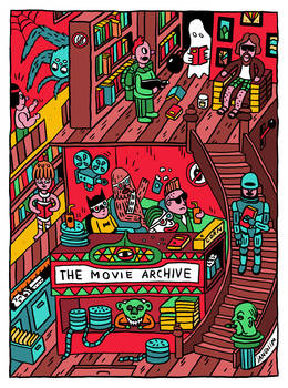 MOVIE ARCHIVE LIBRARY