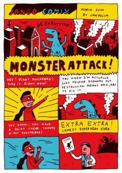 JANGO COMIX - MONSTER ATTACK