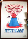 EARTHBARF - RISOGRAFIA PRINT