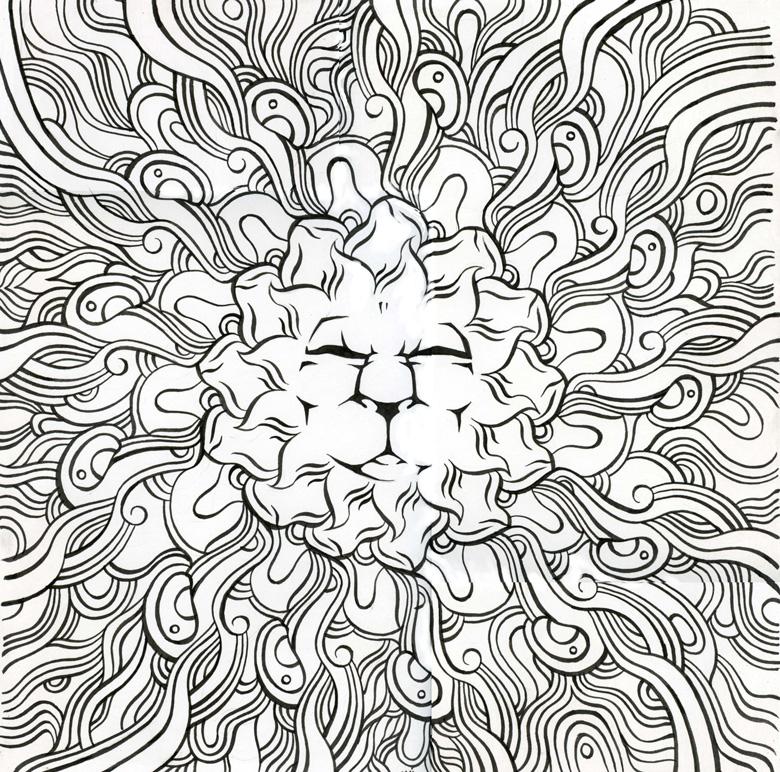 sunlionmandala by Arzamas