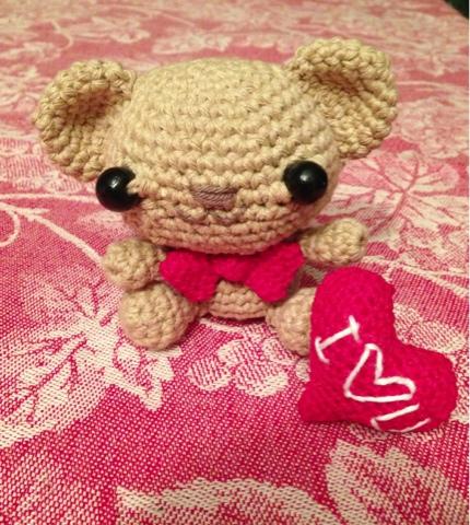 Valentine's teddy by PandaDoni