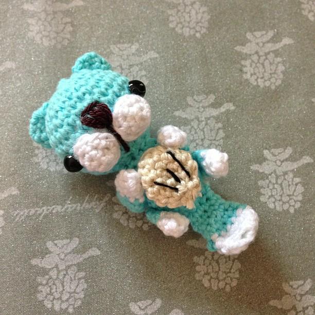Ponyta Amigurumi Pattern : Amigurumi sea otter by PandaDoni on DeviantArt
