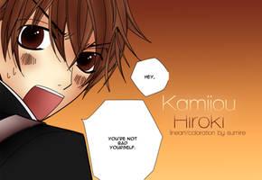 Kamijou Hiroki (young)